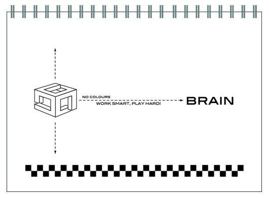 【博崴】文具紙品-無色系列13K素描本-白AW5022/3本入