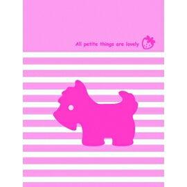 【美加美】文具紙品-Mono 粉紅PVC卡子本 AM2003/本