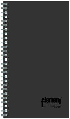 【美加美】文具紙品-60K←PP活頁筆記(55張)-灰AD6041/4本入