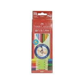 【FABER-CASTELL】 輝柏 16-116538-10 大三角彩色鉛筆3.3mm 10色 /盒