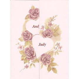 C4001 結婚卡(Andy/Judy) 50張/包