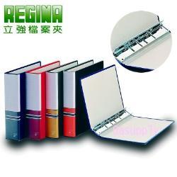 【立強regina】R980 (12入/箱) 4孔管夾  - PVC材質