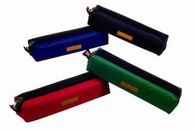 【自強文具】PC-930事務用筆袋(紅、藍、綠、黑)