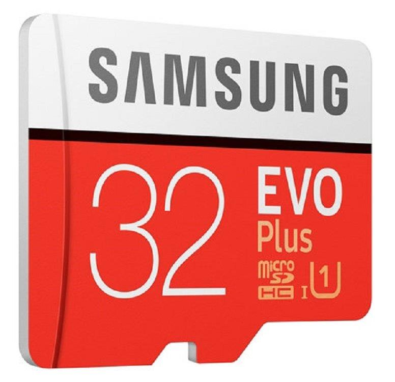 Samsung EVO Plus 95MB/s 32GB microSDHC Class 10 32G microSD micro SD SDHC UHS-I U1 C10 MB-MC32GA with Original SD Adapter 0