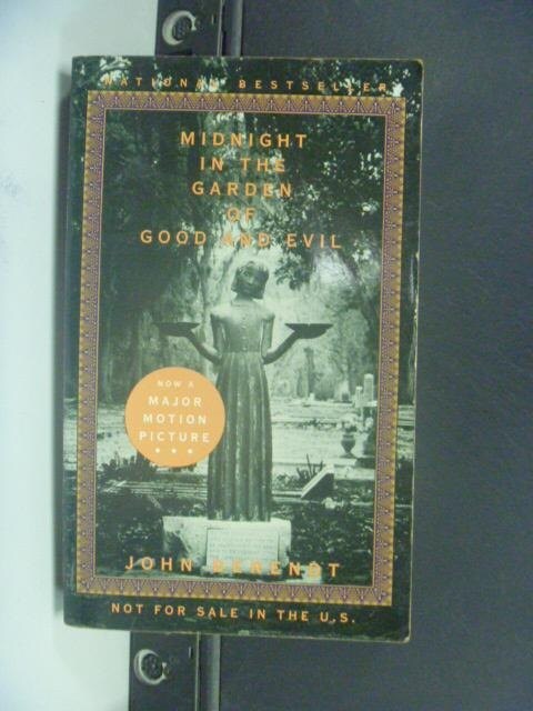 【書寶二手書T9/原文小說_HNX】Midnight in the garden of good and evil