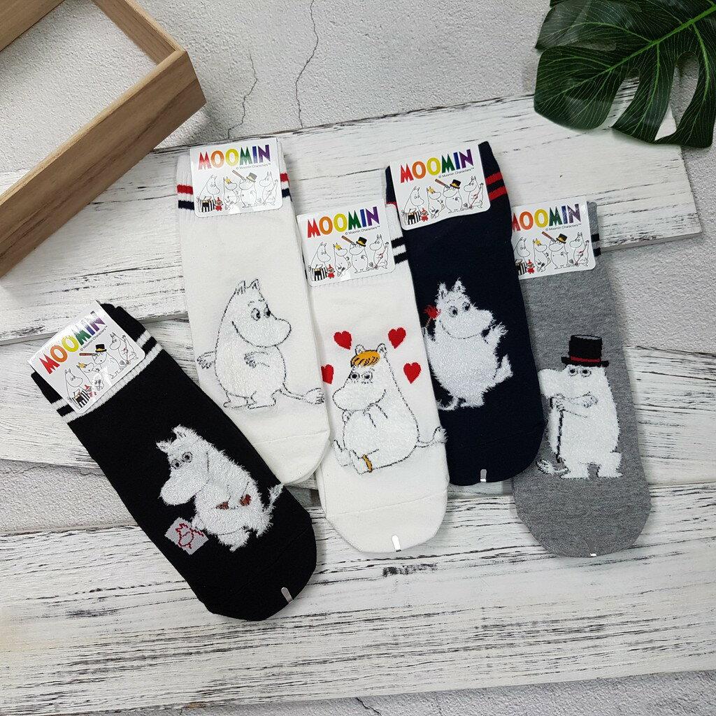 【現貨⭐嚕嚕米熱賣】韓國襪子 高質感 嚕嚕米系列棒球短襪 超夯 正韓 中筒 1