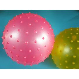 台灣製8.5吋按摩球 安全球 復健球尖球 直徑25cm(大)/一個入{定90} 刺刺球 玩具球 健身球 充氣球 訓練球~群