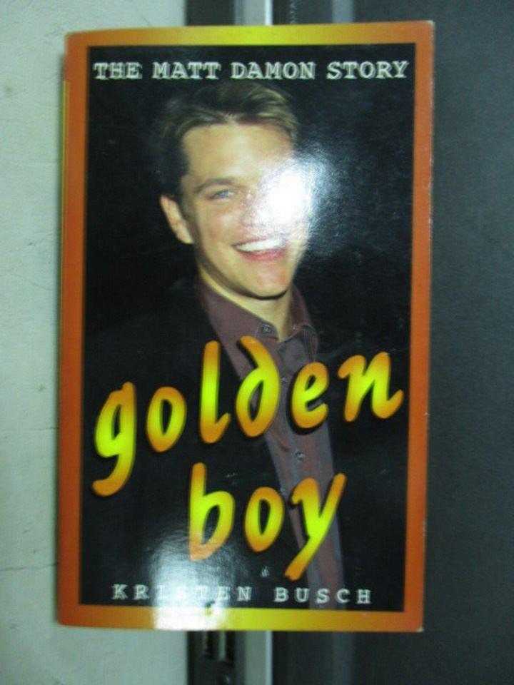 【書寶二手書T8/傳記_LDF】Golden boy_Kristen Busc