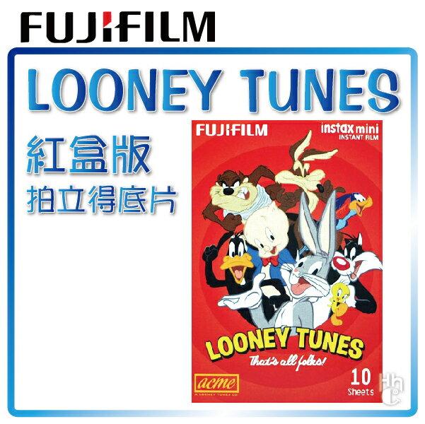 【和信嘉】拍立得 華納 兔寶寶 紅盒版 底片 Warner Looney Tunes 富士 Mini8 / Mini25 / Mini50S / Mini70 / Mini90 / SP1
