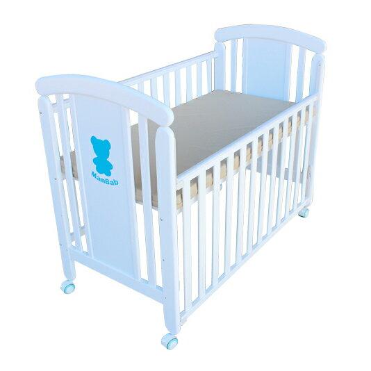 Mam Bab夢貝比 - 親親熊嬰兒床 台規中床 + 蝴蝶寢具八件組 加贈3D透氣床墊! 2