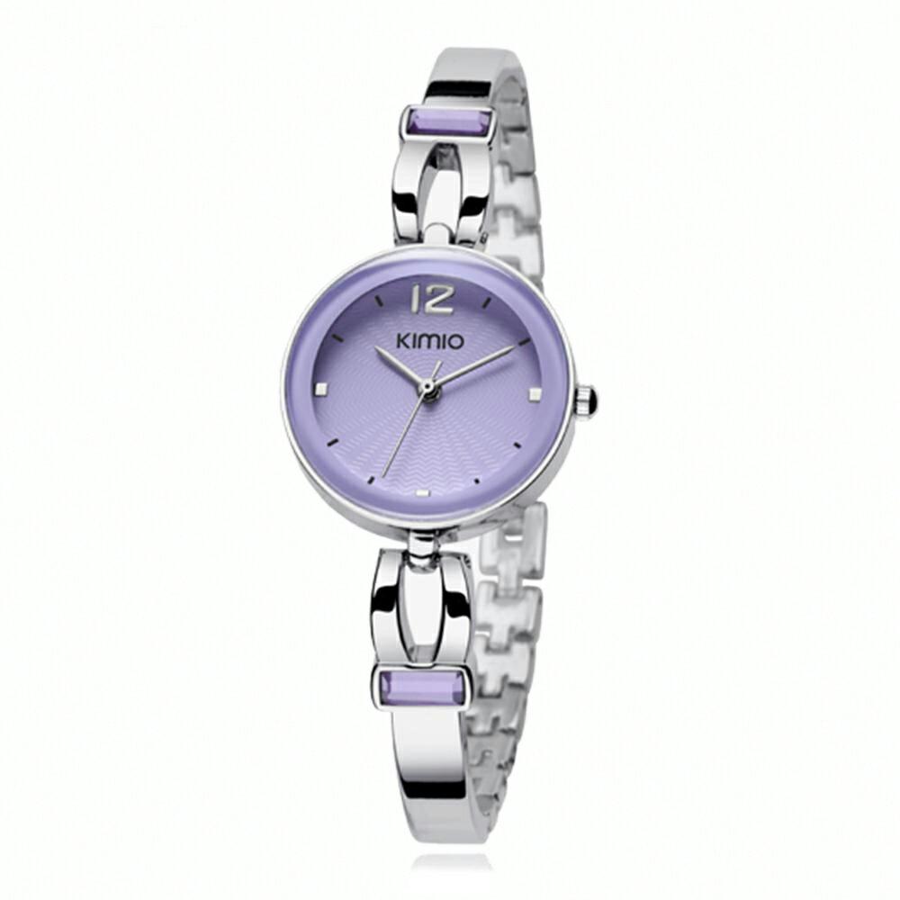 KIMIO 金米歐 K-466 簡約時尚氣質百搭圓款手鍊女錶 4