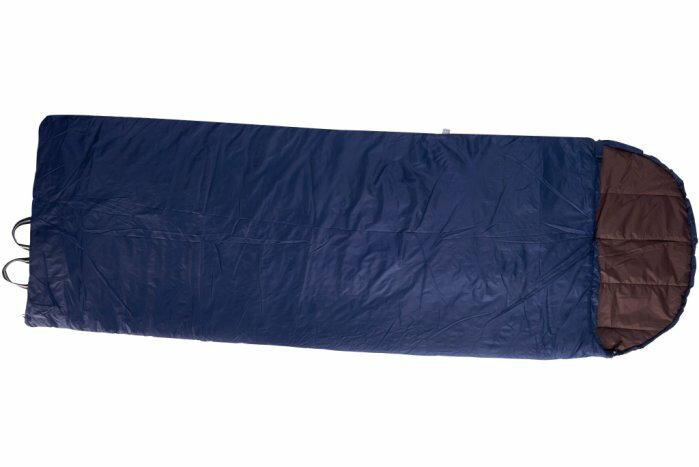 【H.Y SPORT】意都美 Litume C037 深藍 化纖棉保暖睡袋/登山露營必備睡袋