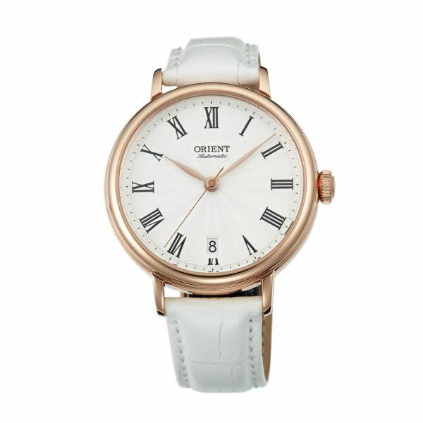大高雄鐘錶城:Orient東方錶(FER2K002W)ELEGANT系列羅馬假期復古機械錶白面37.5mm