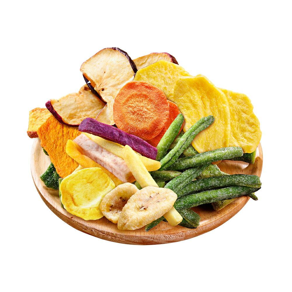 綜合蔬果脆片160公克【每日優果】 1