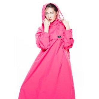 MORR時尚機能風雨衣 - 連身雨衣 PostPosi反穿雨衣 炫藜紅