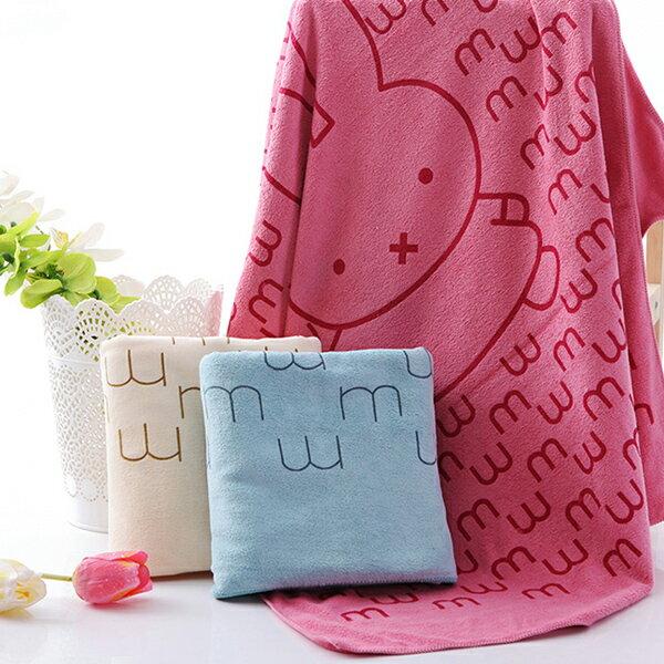 加厚柔膚超細纖維吸水速乾大浴巾 海灘巾 大毛巾 預購【25070140-1】ibella 艾貝拉