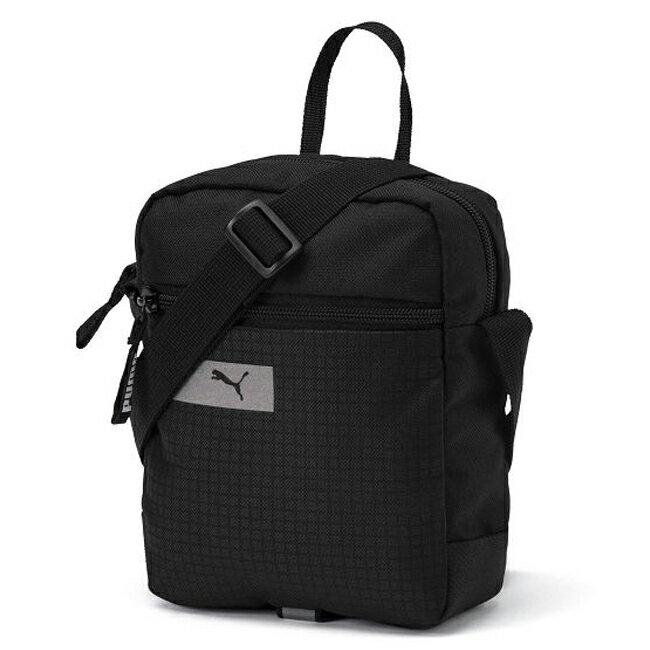 PUMA Bag Puma Vibe Portable 背包 側背包 休閒 黑【運動世界】07549301