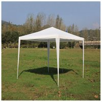 Mcombo 10'x10'Canopy Party Wedding Tent Gazebo Pavilion Cater Events without Removable Walls W1010w