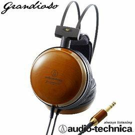 志達電子 ATH-W1000X audio-technica 日本鐵三角 黑櫻桃木耳罩式耳機 (台灣鐵三角公司貨,可試聽)