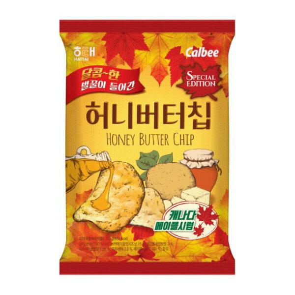 韓新館:HAITAI卡樂比蜂蜜奶油洋芋片(楓糖)60g★1月限定全店699宅配免運