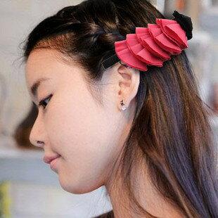 【A‧G SHOP】購買全館任一商品+19元 韓雜誌款花瓣髮夾