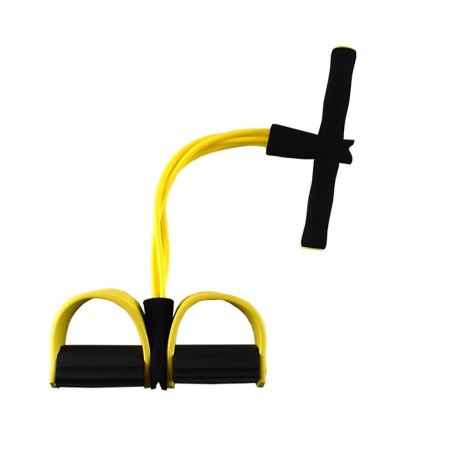 【四管腳蹬拉力器】LA04健身拉力器 多功能乳膠腳蹬腳踏拉力器腿部拉力器仰臥起坐器IGITAL INO  LTD1108