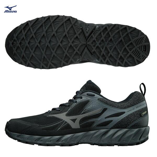 J1GJ185949(黑灰)WAVEIBUKIG-TX男慢跑鞋【美津濃MIZUNO】