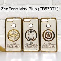 Marvel 手機殼與吊飾推薦到漫威 復仇者電鍍軟殼 ASUS ZenFone Max Plus (ZB570TL) 5.7吋 蜘蛛人 鋼鐵人 美國隊長【Marvel 正版】就在利奇通訊推薦Marvel 手機殼與吊飾