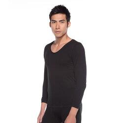 《限時優惠↘7折》發熱衣自在系列 親膚羽感長袖保暖衣 黑色【zuzai 自在】