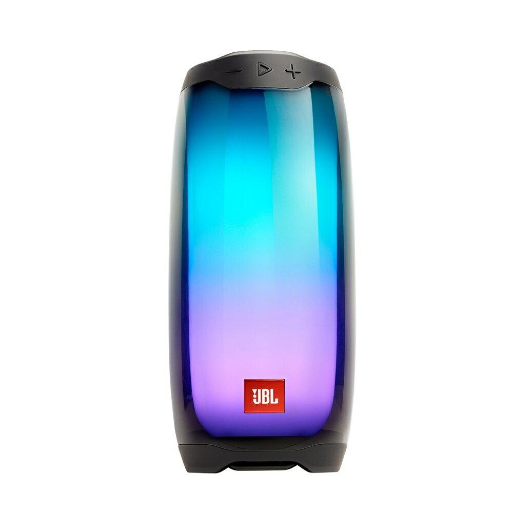 英大公司貨/實體店面『JBL PULSE 4 黑色 』360度炫彩藍牙喇叭/藍芽/IPX7防潑水/彩色LED燈/JBL Connect App/另售 PULSE 3