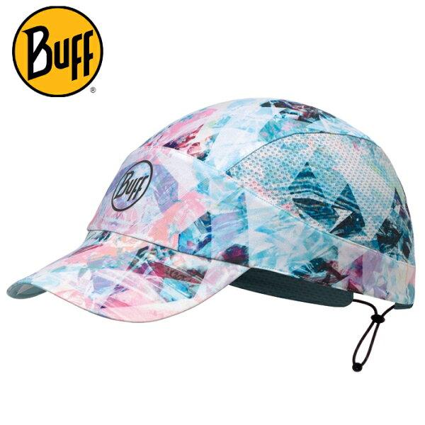BuffFastwick急速排汗遮陽帽117212水晶玻璃高防曬抗UV軟式摺疊帽路跑馬拉松健行登山