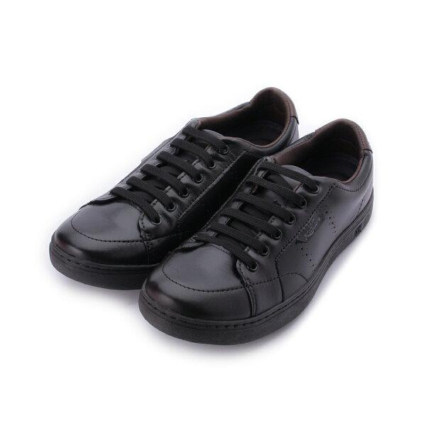 KILDAREBLENDBLACK真皮燻黑綁帶休閒鞋黑RU4761-BL男鞋