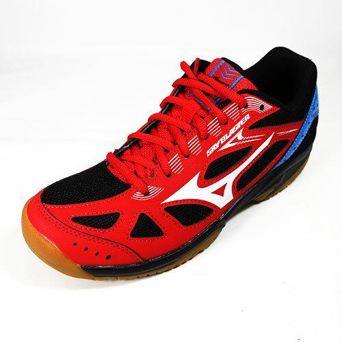(A4) MIZUNO 美津濃 SKY BLASTER 排羽球鞋 - 71GA194511 紅/黑/藍 [陽光樂活=]