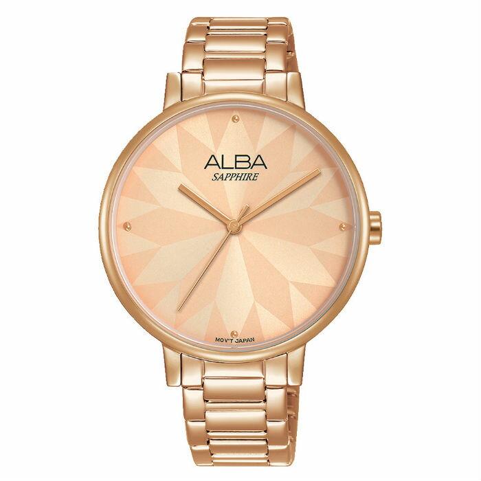 ALBA VJ21-X144K(AH8570X1) 流行簡約時尚腕錶 / 玫瑰金 36mm - 限時優惠好康折扣