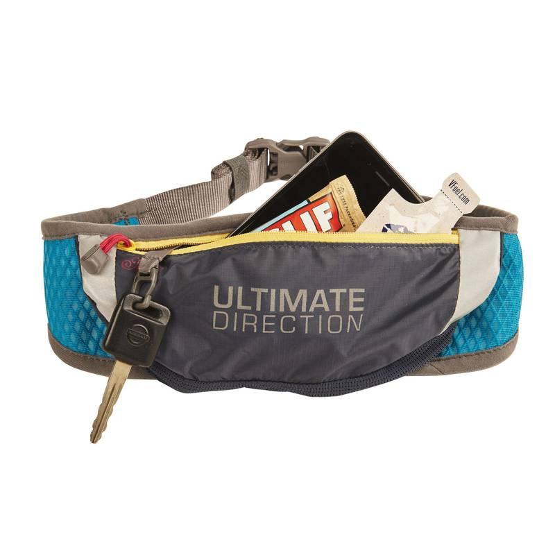 騎跑泳  勇者-MEOW 灰黑口袋 黃鍊 藍綠腰帶.Ultimate Direction世