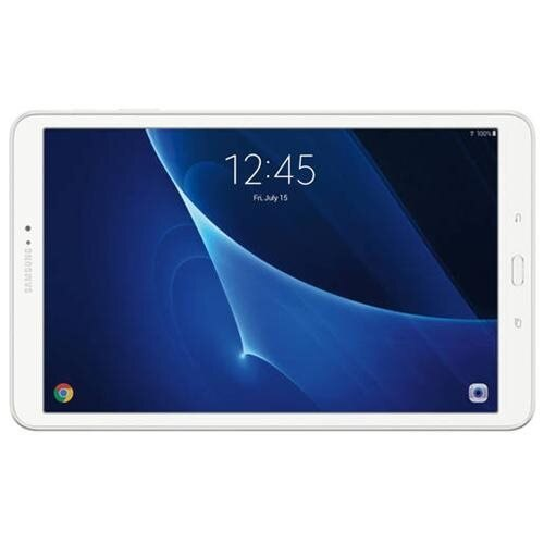 "Samsung Galaxy Tab A SM-T580 Tablet - 10.1"" - 2 GB DDR3 SDRAM - Samsung Exynos 4210 Octa-core (8 Core) 1.60 GHz - 16 GB - Android 6.0 Marshmallow - 1920 x 1200 - Plane to Line (PLS) Switching - Pearl White - 16:10 Aspect Ratio - microSD Memory Card Suppor 1"