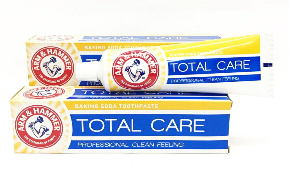 英國進口 ARM & HAMMER 牙膏 ( 多重款: Total care )