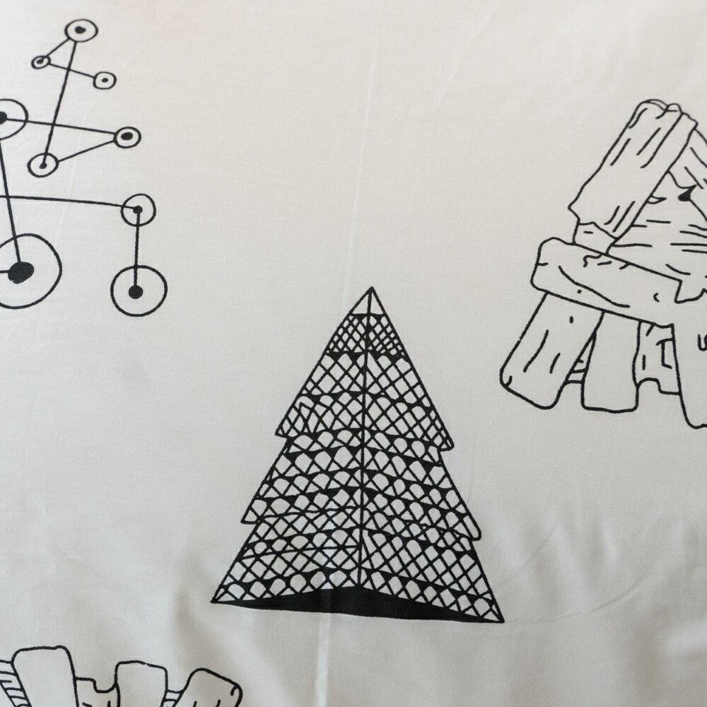 黑白森林  單人 / 雙人 / 加大綜合賣場  100%復古純棉 8