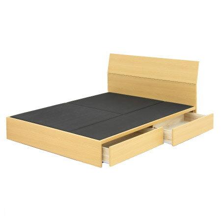 ◎雙人床座 床架 附抽屜 T-BENT BOX NA NITORI宜得利家居 1