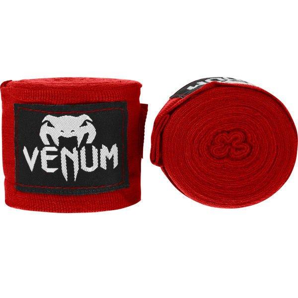 MMA拳擊手綁帶~健身房combat手綁帶~UFC眼鏡蛇VENUM名牌4米BOXING-紅