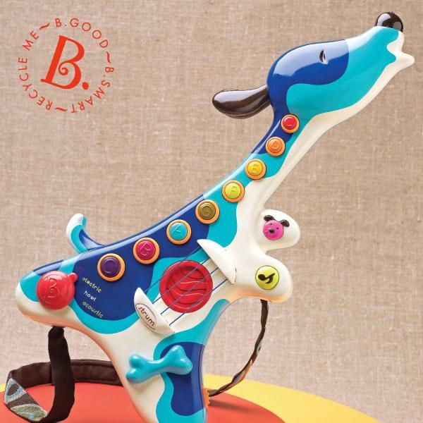 飛炫寶寶 【美國B.Toys】獵犬小吉他