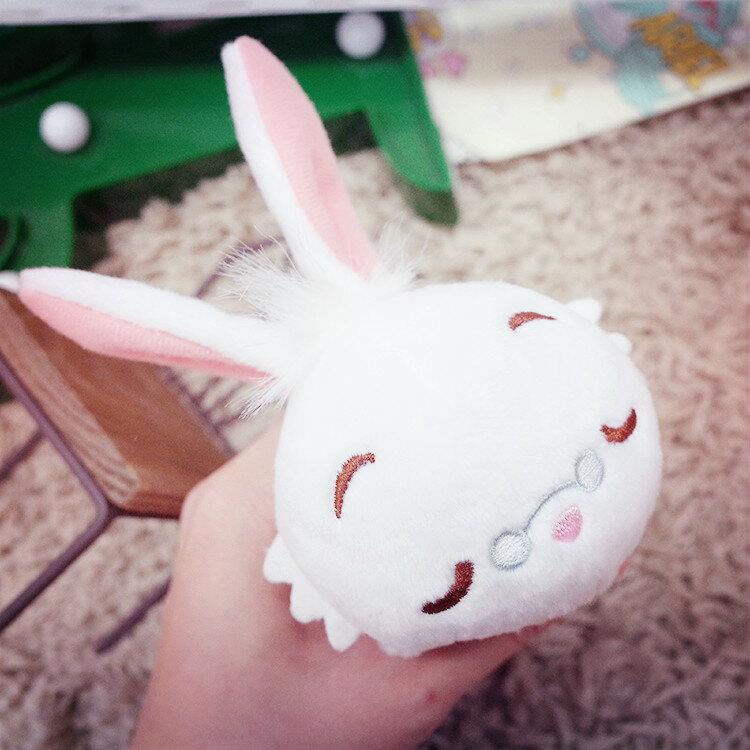 PGS7 日本迪士尼系列商品 - 愛麗絲 夢遊仙境 Q版 時鐘兔 Rabbit 睡姿 別針 吊飾 兔子 娃娃【SKD5052】