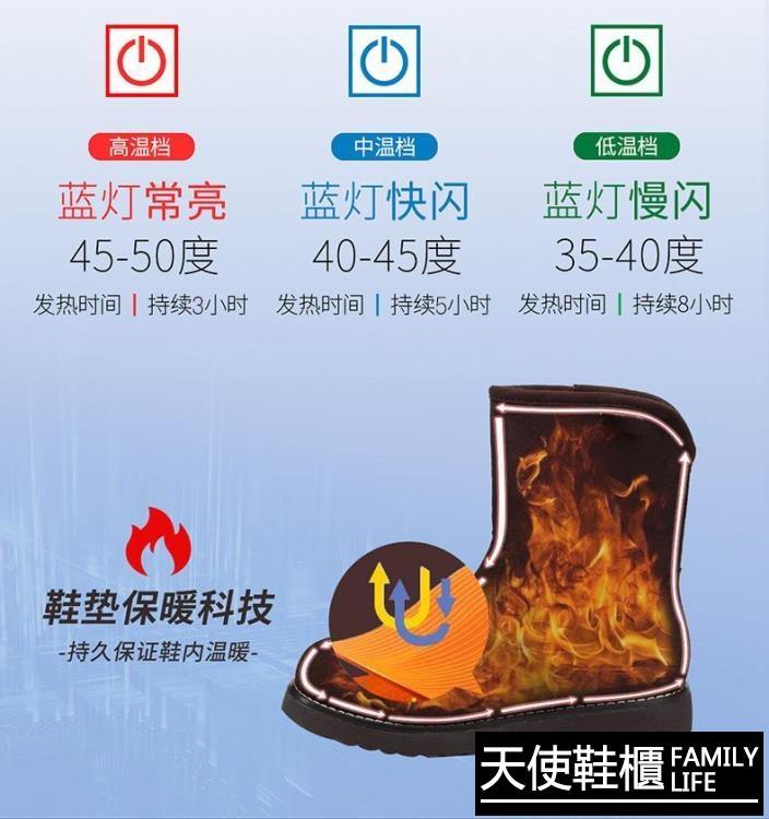 加熱鞋墊 充電加熱鞋墊可行走usb無線遙控調溫智能電熱鞋墊發熱冬季暖腳寶【免運】