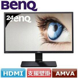 BENQ GW2470H  23.8吋不閃屏 低藍光 黑色液晶顯示器
