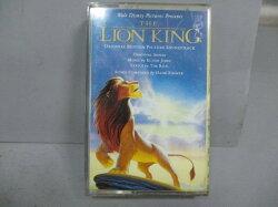 【書寶二手書T8/音樂_LRT】The Lion King獅子王電影原聲帶_錄音帶收藏