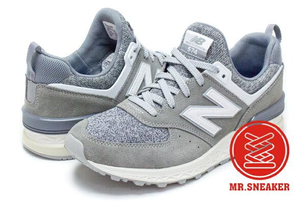 Mr. Sneaker:☆Mr.Sneaker☆NEWBALANCEMS574-BGFreshFoam緩震科技灰色男段【單筆消費滿1000元全會員結帳輸入序號『CNY100』↘折100