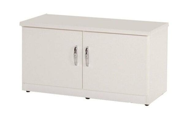【石川家居】851-01白色座鞋櫃(CT-306)#訂製預購款式#環保塑鋼P無毒防霉易清潔