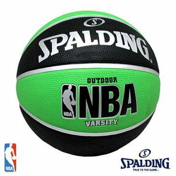 [陽光樂活] 斯伯丁 SPALDING NBA 暢銷款 Varsity SPA83276 黑/綠 #7