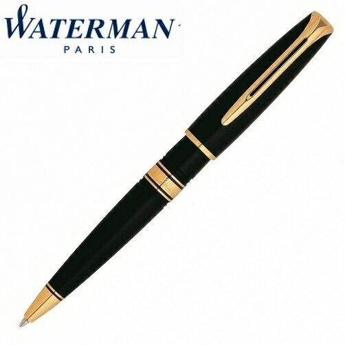 【華特曼WATERMAN】查理斯登系列黑桿金夾原子筆W130042支