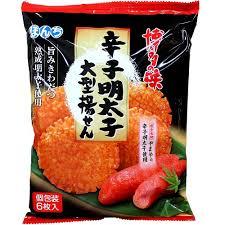 【Bonchi】辛子明太子大型米果 120g